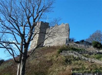 Norman castle, Lewes