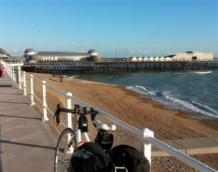 Hastings award winning pier